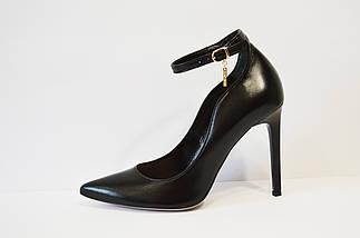 Туфли кожаные на шпильке Bravo Moda 1633, фото 3