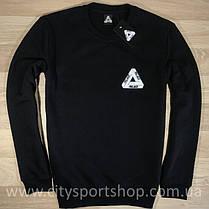 Свитшот с принтом Palace Logo (черный) Бирка, фото 2
