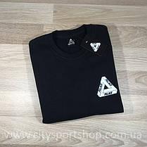 Свитшот с принтом Palace Logo (черный) Бирка, фото 3