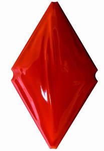 Плитка Cevica Rombo Loft Rojo 12х20