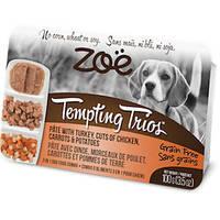 ZOE (Зои) Tempting Trios консервы для собак с индейкой и курицей 100 гр