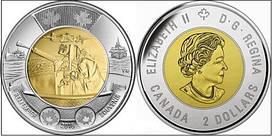 Канада 2 долара 2016, Битва за Атлантику