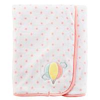 Плюшевое одеяло Carter's для девочек (США)