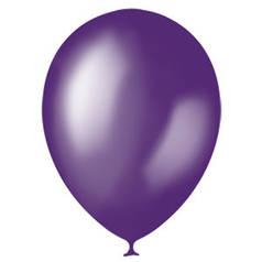 Шар Мексика 12/30см Металлик PURPLE (фиолетовый)