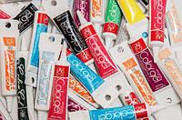 Барвники гелеві харчові Modecor Коричневий, Бежевий, 12 шт в упаковці