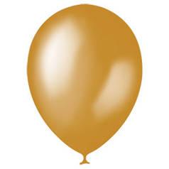 Шар Мексика 12/30см Металлик GOLD (золото)