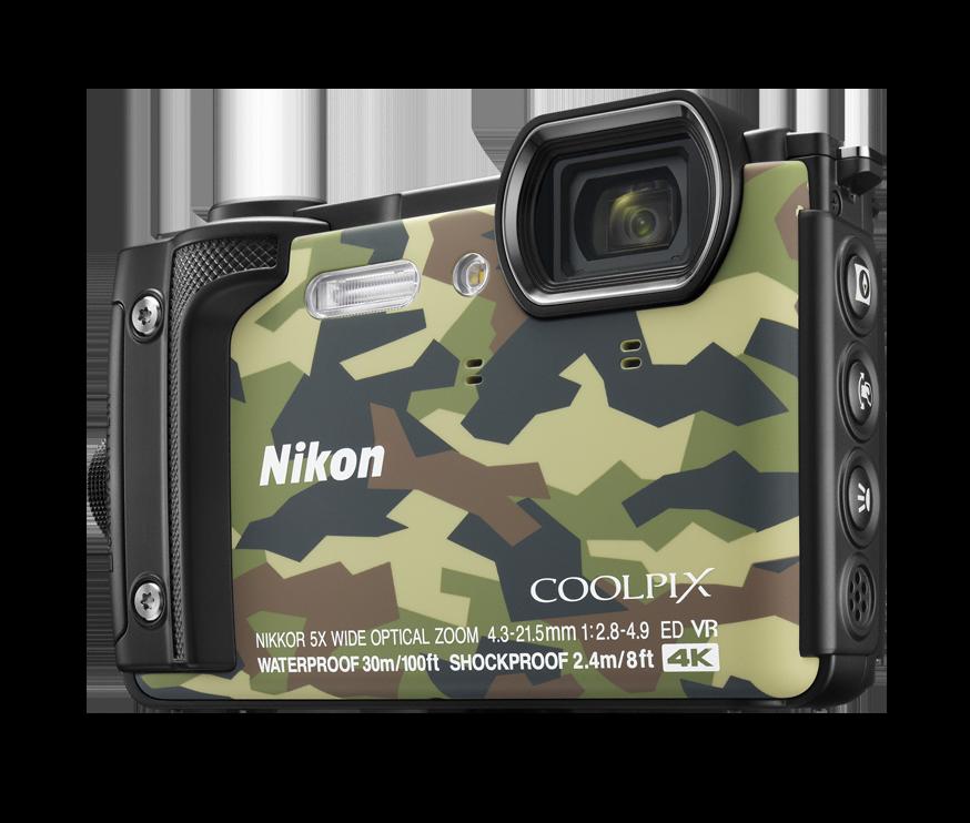 Компактный фотоаппарат Nikon Coolpix W300 Camouflage