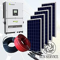 """Сонячна електростанція 30kW """"Зелений тариф"""" під ключ"""