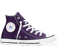 "Женские кеды Converse All Star Chuck Taylor High ""Violet"" реплика"