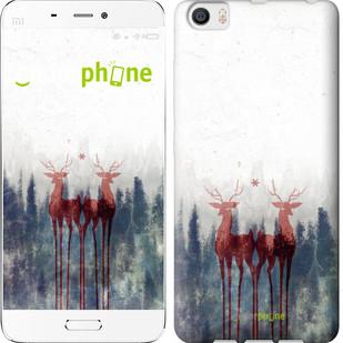"Чехол на Xiaomi Mi5 Олень ""3960c-180-571"""