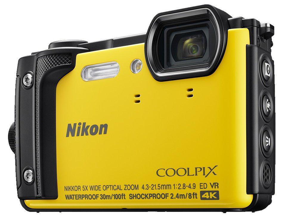 Компактный фотоаппарат Nikon Coolpix W300 Yellow