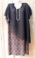 Женское платье, баталл,  купить платье оптом, LU 1187 PJ-003