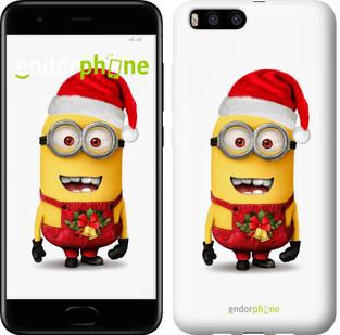 """Чехол на Xiaomi Mi Note 3 Миньоны. Рождество """"1485u-978-571"""""""