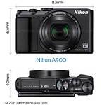 Компактный фотоаппарат Nikon Coolpix A900 Black, фото 2