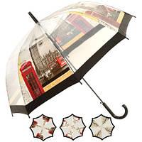 Зонт-трость полуавтомат д60см 8сп T05753 (60шт)
