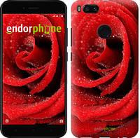 "Чехол на Xiaomi Mi 5X Красная роза ""529c-1042-571"""