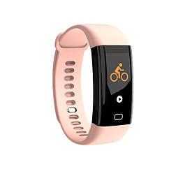 Фитнес-браслет с тонометром F07 Pink ip68