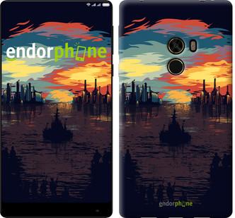 """Чехол на Xiaomi Mi MiX Череп-абстракция """"4067u-426-571"""""""