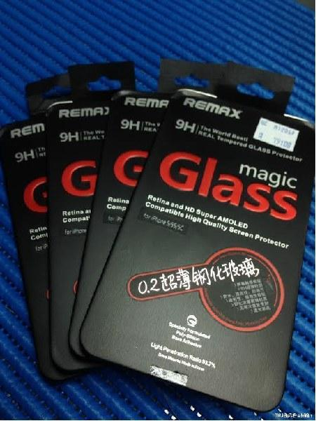 Противоударное стекло 0.2mm Ultra-thin Magic Tempered Glass iPhone 6/6s Remax 351002