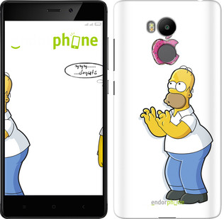 """Чехол на Xiaomi Redmi 4 Prime Симпсоны, Гомер с яблоком """"937c-437-571"""""""