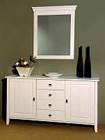 Комод 2 - х дверный Боцен, цвет белый воск 1474 x 425 x 788