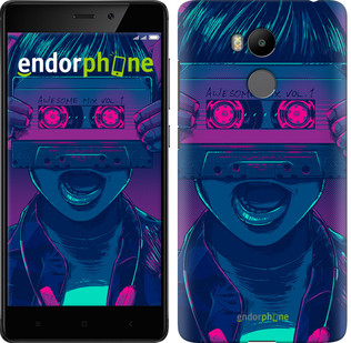 "Чехол на Xiaomi Redmi 4 Prime Звёздный Лорд ""4175c-437-571"""