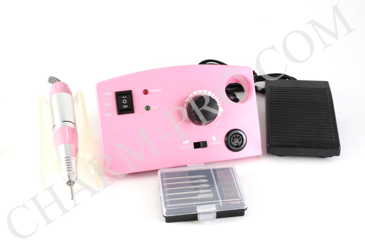 Маникюрный фрезер DM-211 30W/30000 об. (розовый)