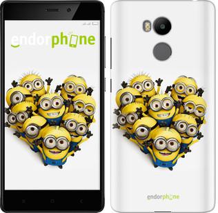 "Чехол на Xiaomi Redmi 4 Prime Миньоны 4 ""301c-437-571"""