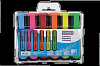 Набор текст-маркеров выделителей d-text donau 7358906pl-99 из 6 цветов