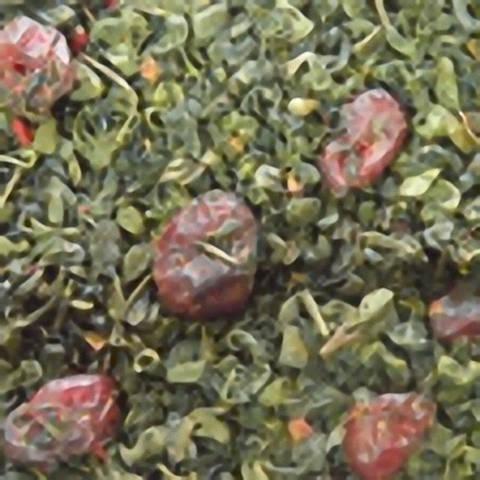Зелений ароматизований чай «Гранатовий нектар»