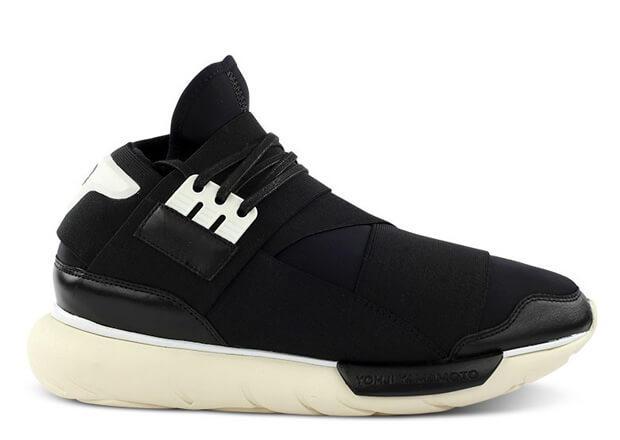 Кроссовки Adidas Y-3 Qasa Black White