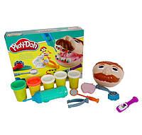 Тесто для лепки Play Doh Мистер зубастик (стоматолог Плей До) MK 1525, фото 1