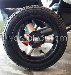 "Заднее колесо 10"" (255x55) L1001 трехколесного велосипеда"