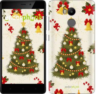 "Чехол на Xiaomi Redmi 4 Prime Новогодняя елка ""4198c-437-571"""