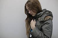 Пальто зимнее для девочки длинное водонепроницаемое , фото 1