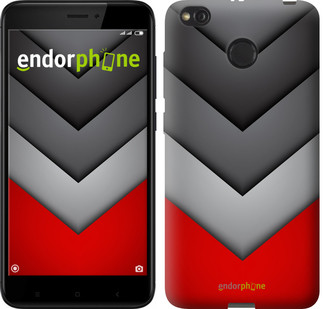 "Чехол на Xiaomi Redmi 4X Цветная геометрия ""3024c-778-571"""