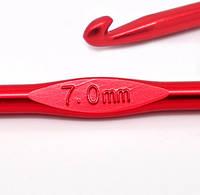 Крючок для вязания цветной, 7,0 мм