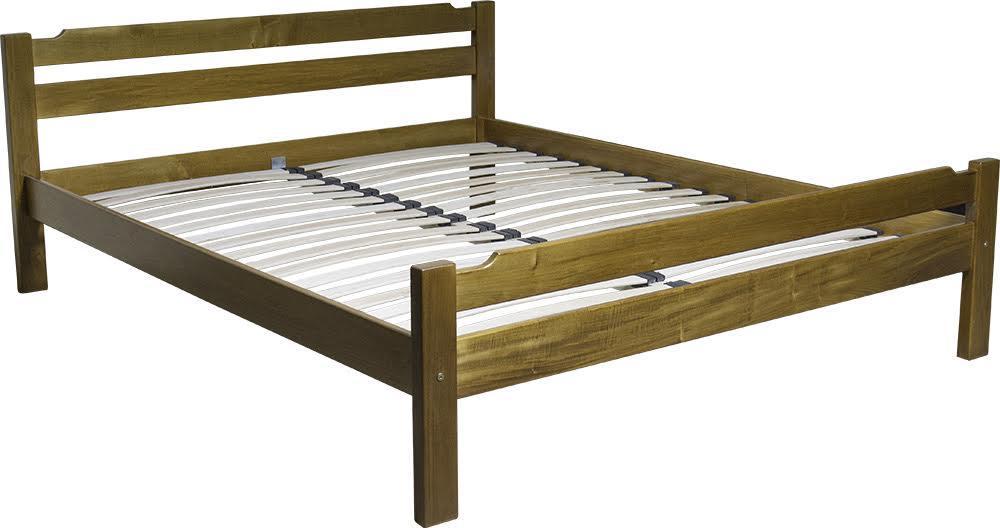 """Двуспальная кровать из натурального дерева """"Ника-2"""""""