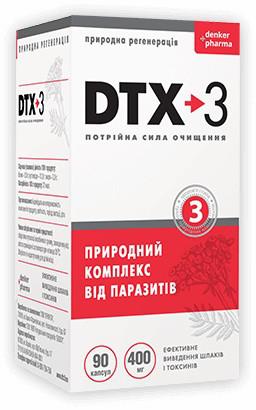 DTX-3  (ДТИКС-3) - капсулы от паразитов. Цена производителя. Фирменный магазин.