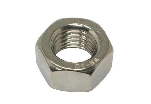 Гайка М2,6 шестигранная ГОСТ 5915-70, DIN 934 из нержавеющей стали А2