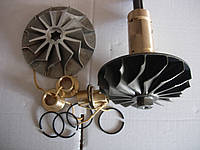 Ротор ТКР14Н С-718496-09 кольцо С-509199 втулка СТ-155925 запчасти к турбокомпрессорам ТКР14Н ТКР14С дизель 6Ч