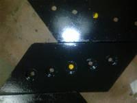 Нож МОАЗ Д З57П-9202020А Нож боковой Д З57П-9202017(16)А для автоскрепера МОАЗ -546 МОАЗ-6014