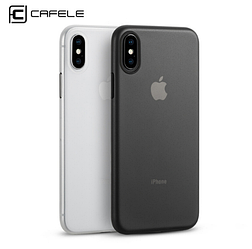 Cafele матовый PP чехол для Apple iPhone X ультра-тонкий 0.4мм