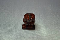 """Сова. Камень """"Красная Яшма"""""""