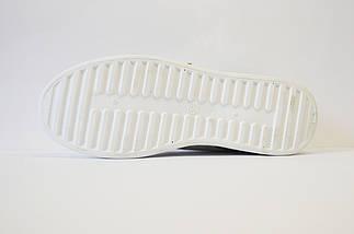 Кроссовки серебристые с цветами Sopra 02, фото 2