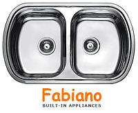 Кухонные мойки из нержавеющей стали Fabiano