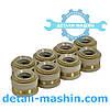 Манжета уплотнительная клапана КамАЗ (сальники клапанов) силикон 740.1007262-01