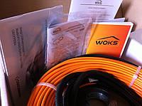 Нагревательный кабель с защитным экраном ( 2.8 м.кв )