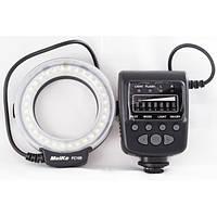 Кольцевая LED макровспышка MeiKe FC-100 (FC100) для камер CANON