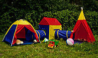 Детская игровая большая палатка 5в1 , фото 1